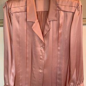 Tops - Vintage 100% Silk Blouse